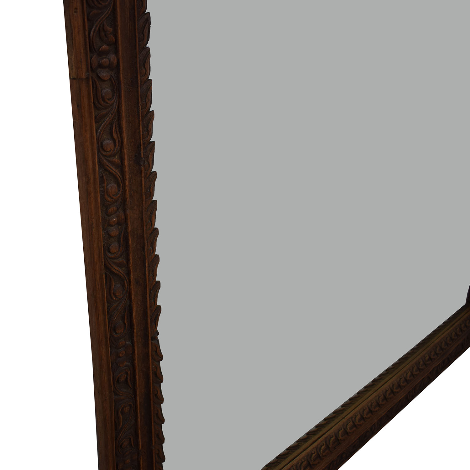 Large Carved Wood Mirror dimensions