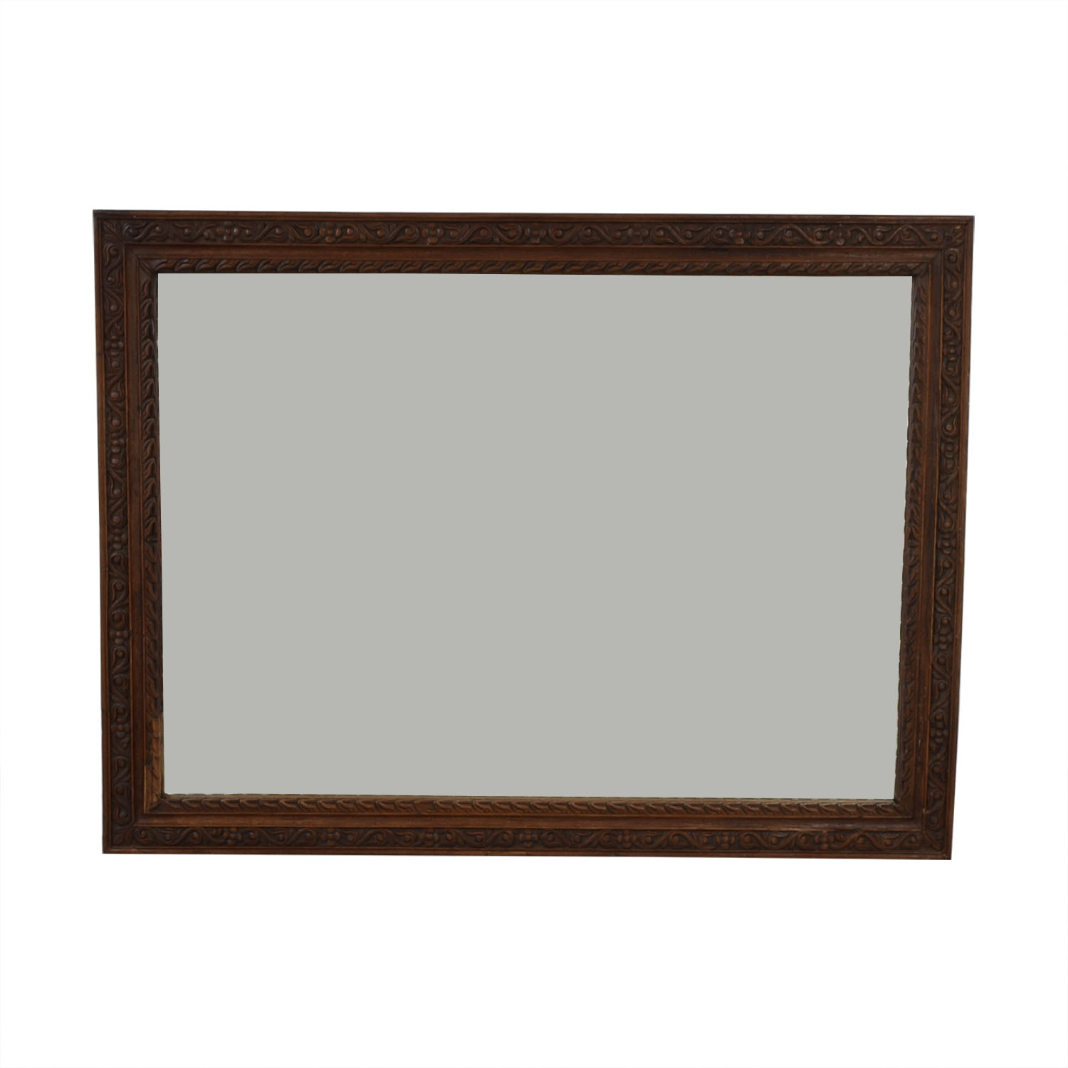 Large Carved Wood Mirror price