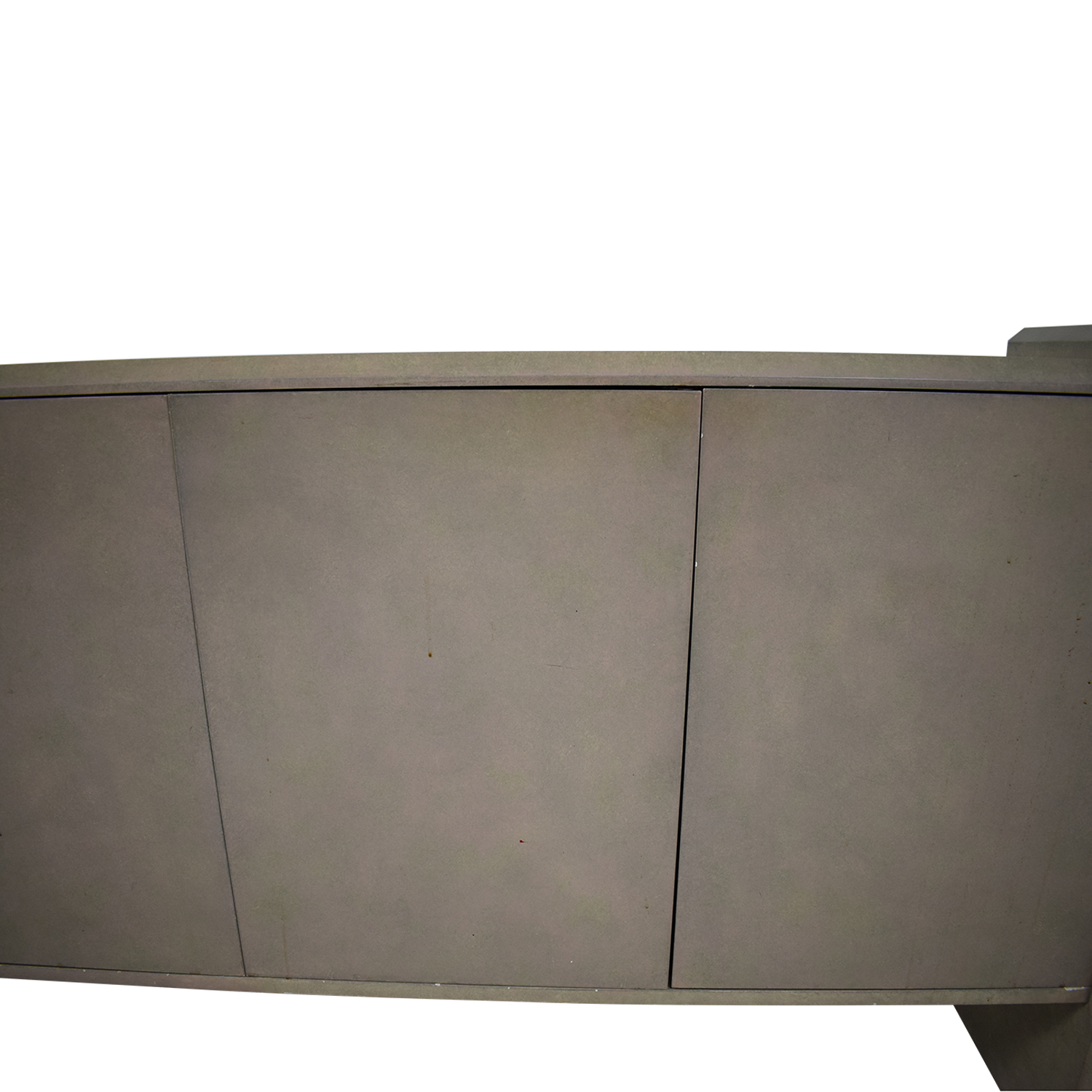 Blush Pink Lacquer Entryway Credenza Cabinets & Sideboards
