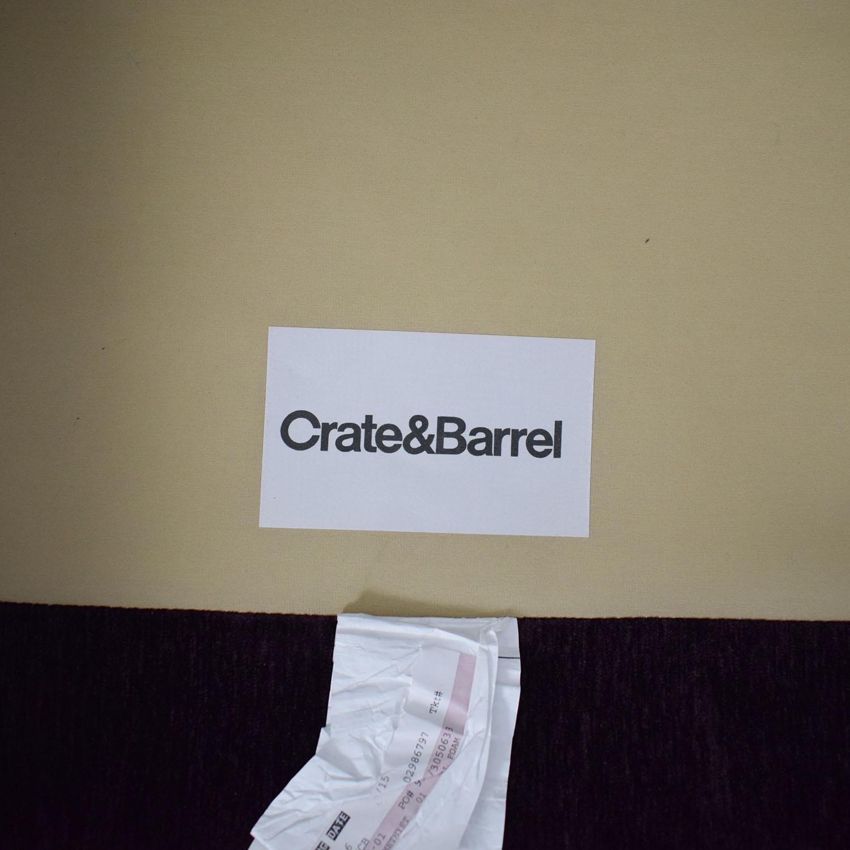 Crate & Barrel Crate & Barrel Davis Three Seat Lounger Sofas