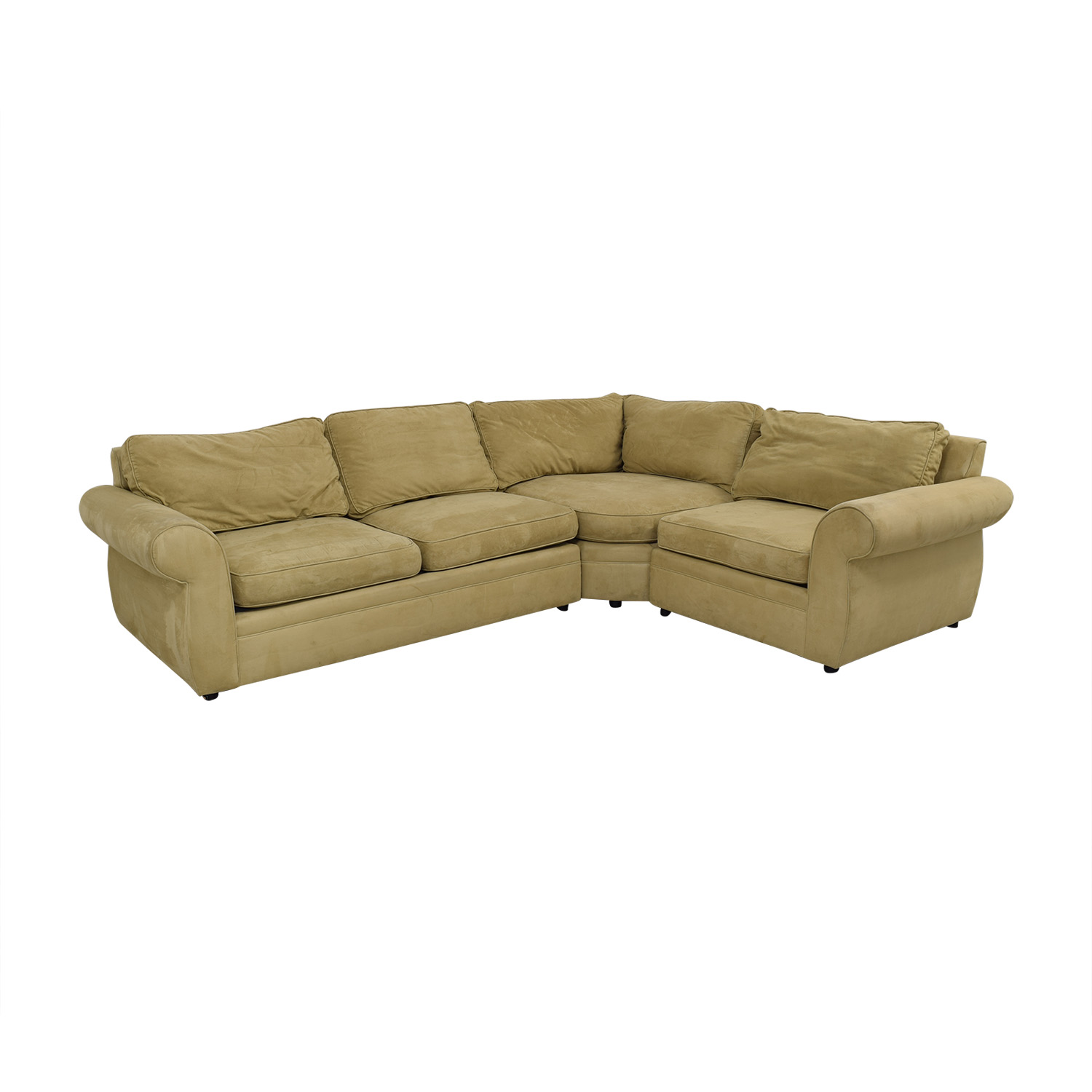 Outstanding 83 Off Pottery Barn Pottery Barn Pearce Upholstered 3 Piece Sectional With Wedge Sofas Machost Co Dining Chair Design Ideas Machostcouk