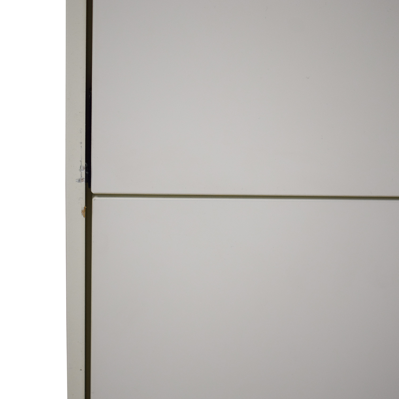 BoConcept BoConcept White Lacquer Shoe Cabinet Cabinets & Sideboards