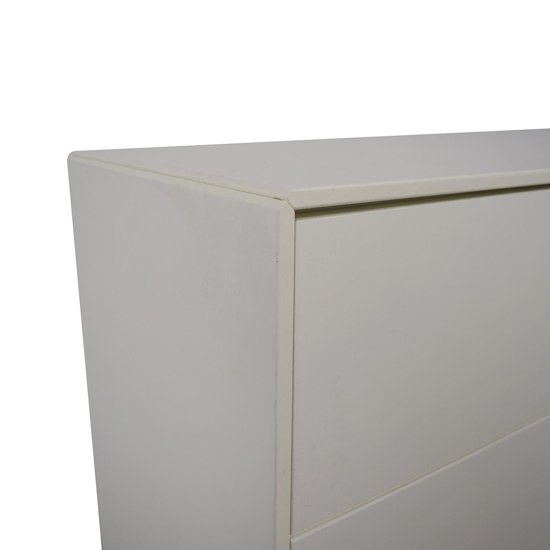 BoConcept BoConcept White Lacquer Shoe Cabinet price