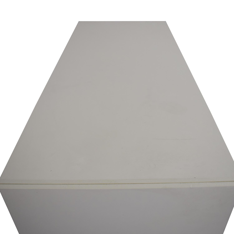 shop BoConcept White Lacquer Shoe Cabinet BoConcept Cabinets & Sideboards