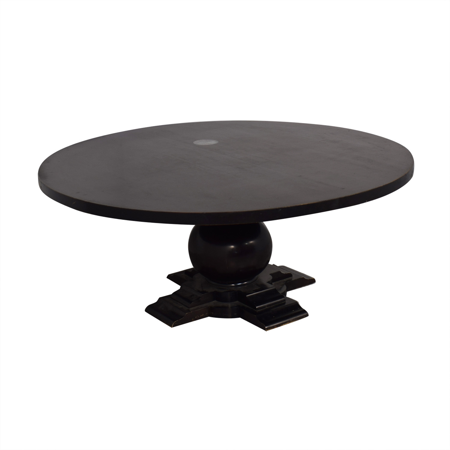 shop Crate & Barrel Round Dinner Table Crate & Barrel Tables