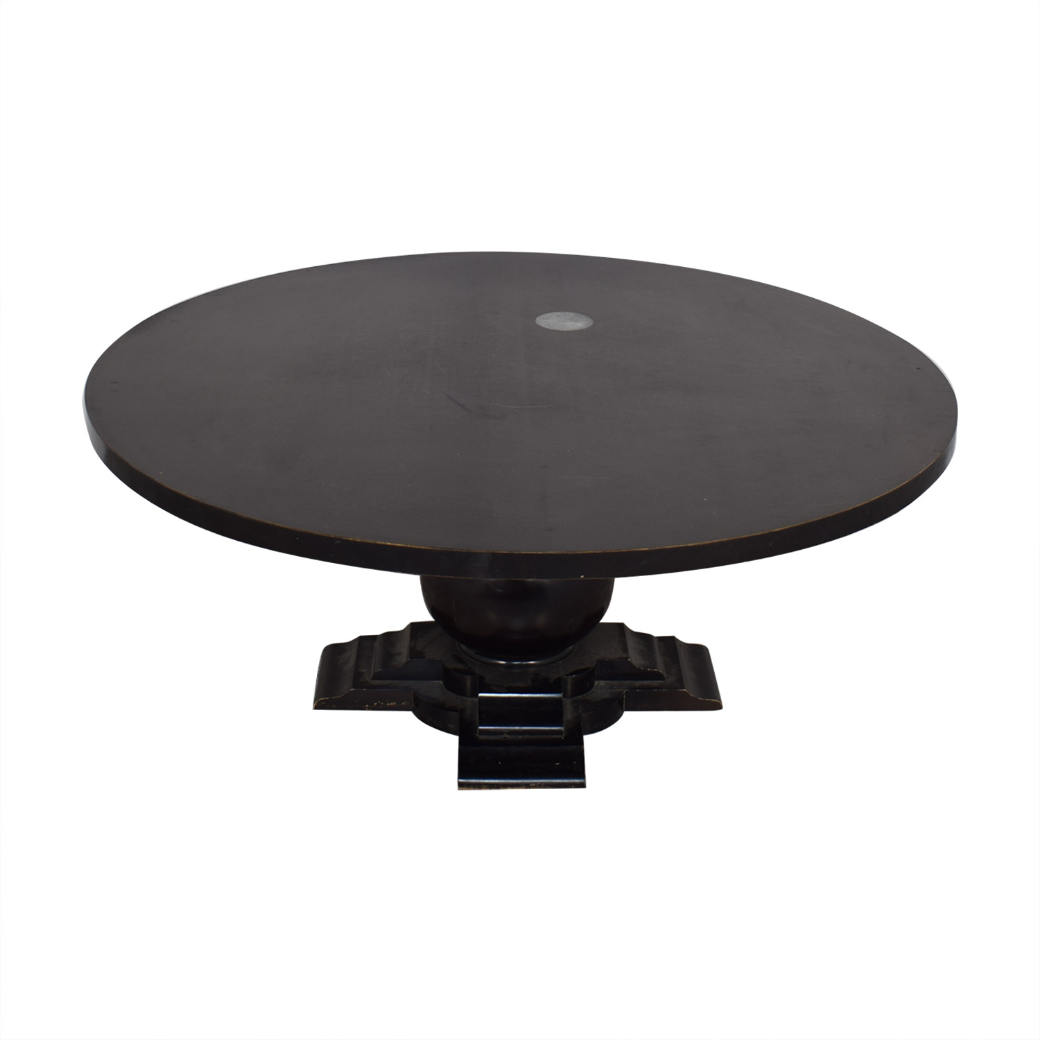 Crate & Barrel Crate & Barrel Round Dinner Table price