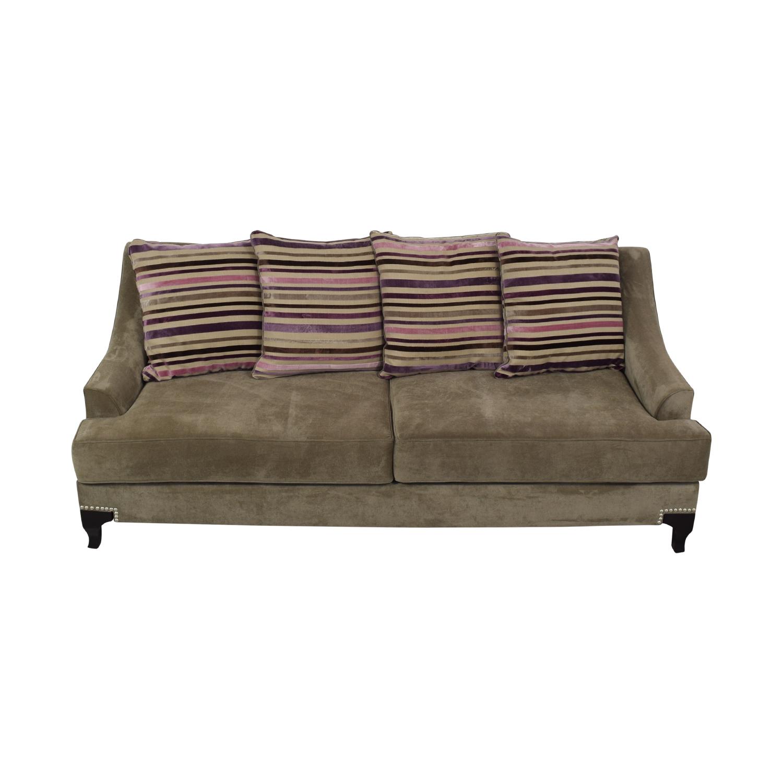 84% OFF - Furniture of America Furniture of America Classic Sofa / Sofas