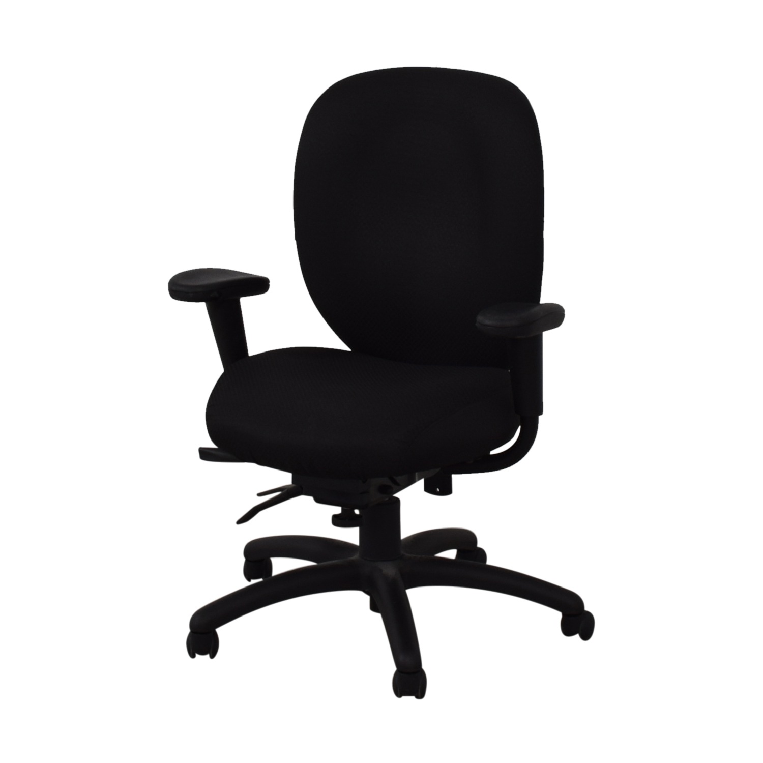 buy Offices to Go Black Quilt Office Chair Offices to Go Home Office Chairs