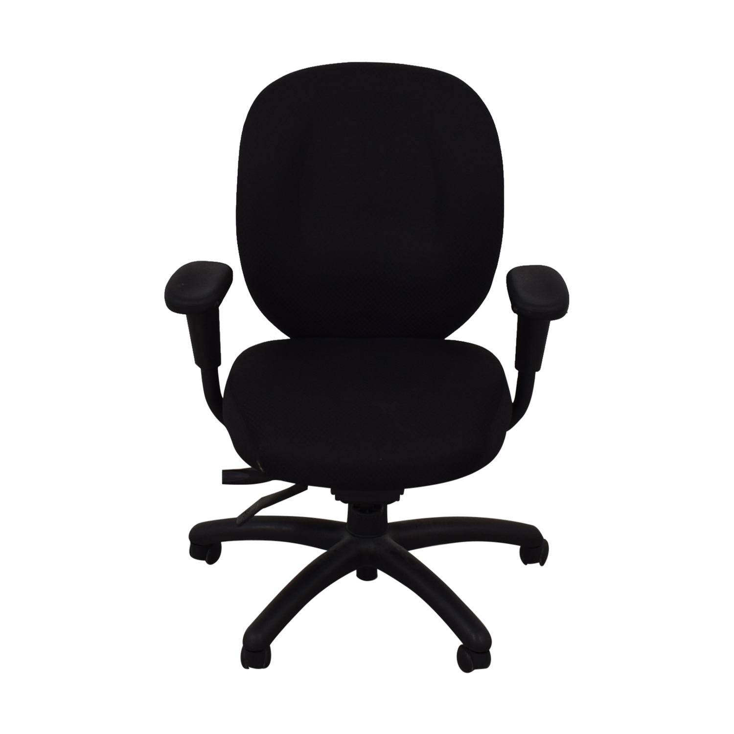 shop Offices to Go Black Quilt Office Chair Offices to Go
