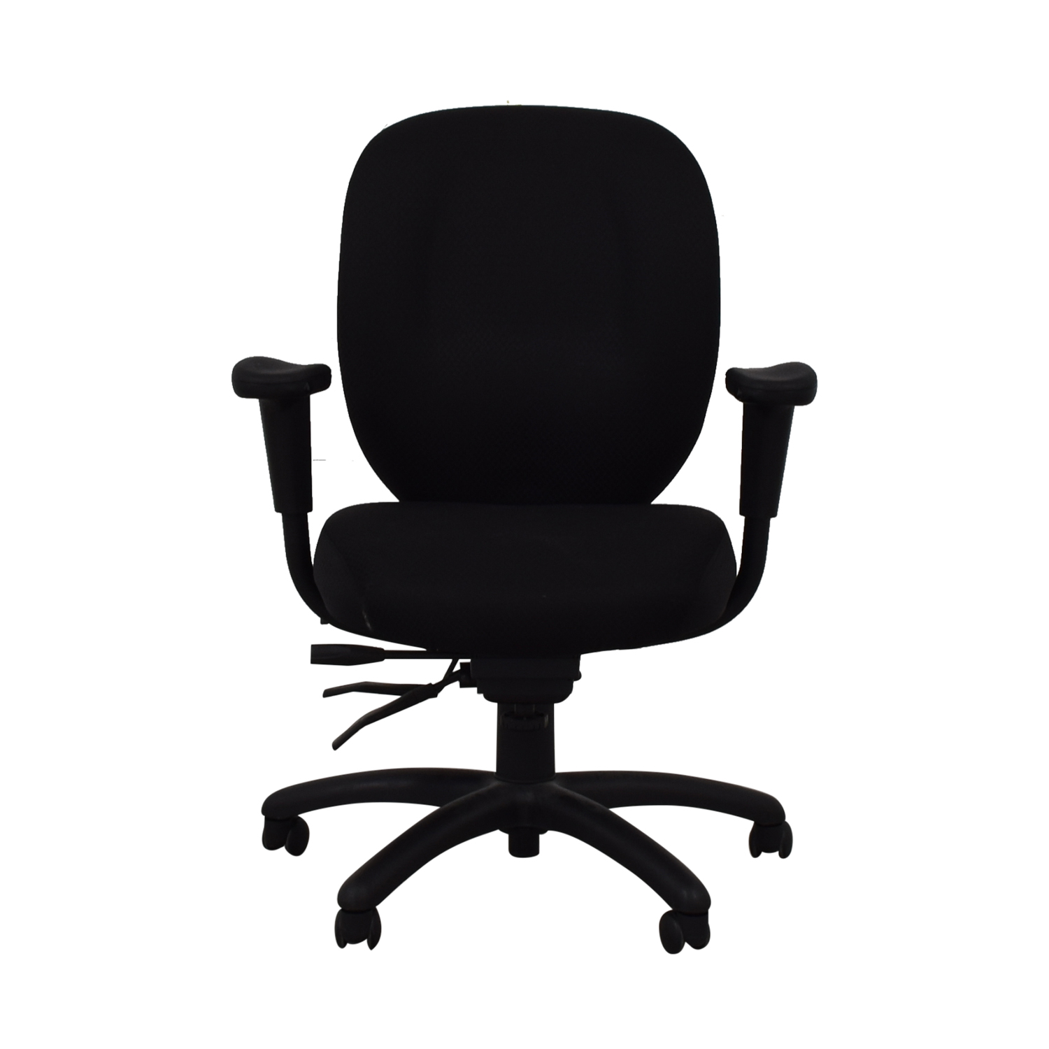 Offices to Go Offices to Go Black Quilt Office Chair for sale