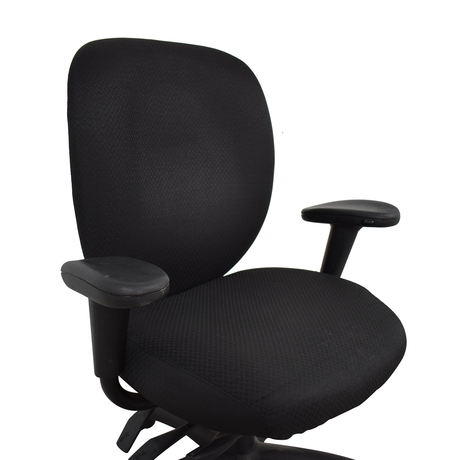 buy Offices to Go Black Quilt Office Chair Offices to Go