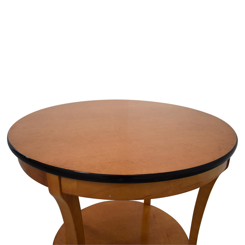Circular Side Table nyc