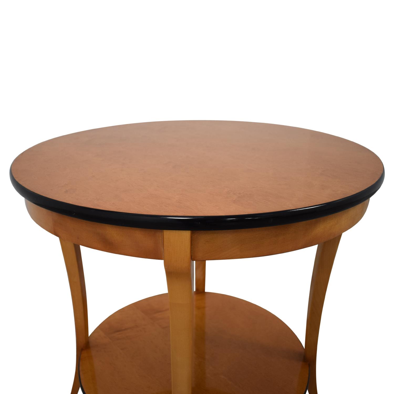 Circular Side Table sale