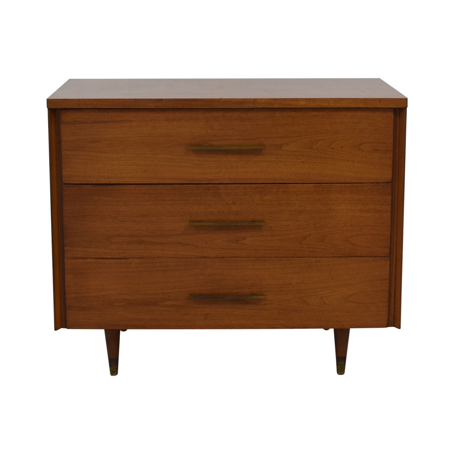 Mid Century Three Drawer Dresser