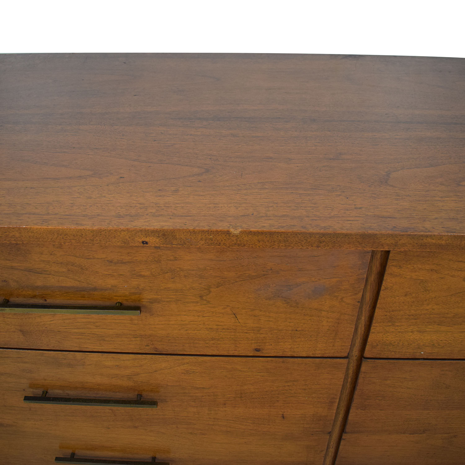 Mid Century Six Drawer Dresser discount