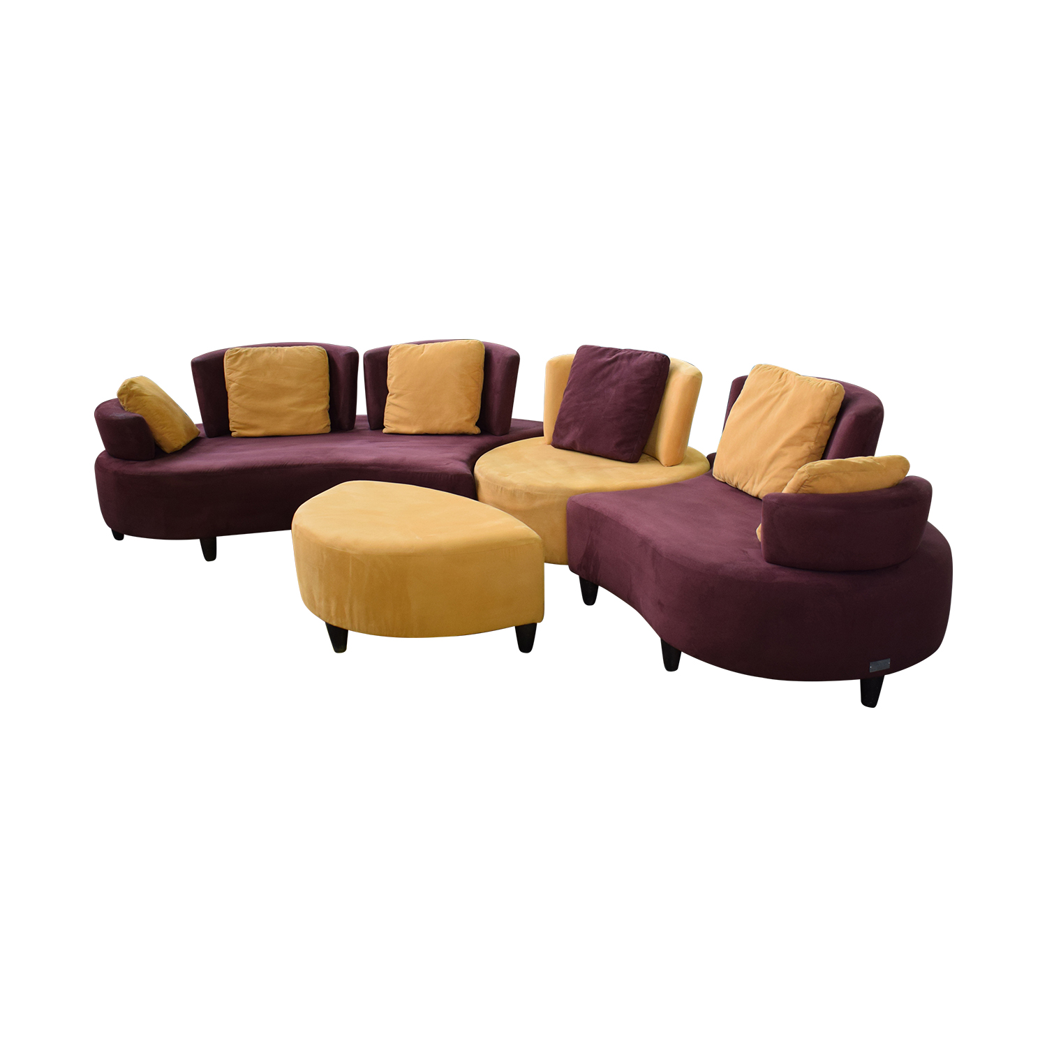 shop Normand Couture Design Cameleon Sectional Sofa Normand Couture Design