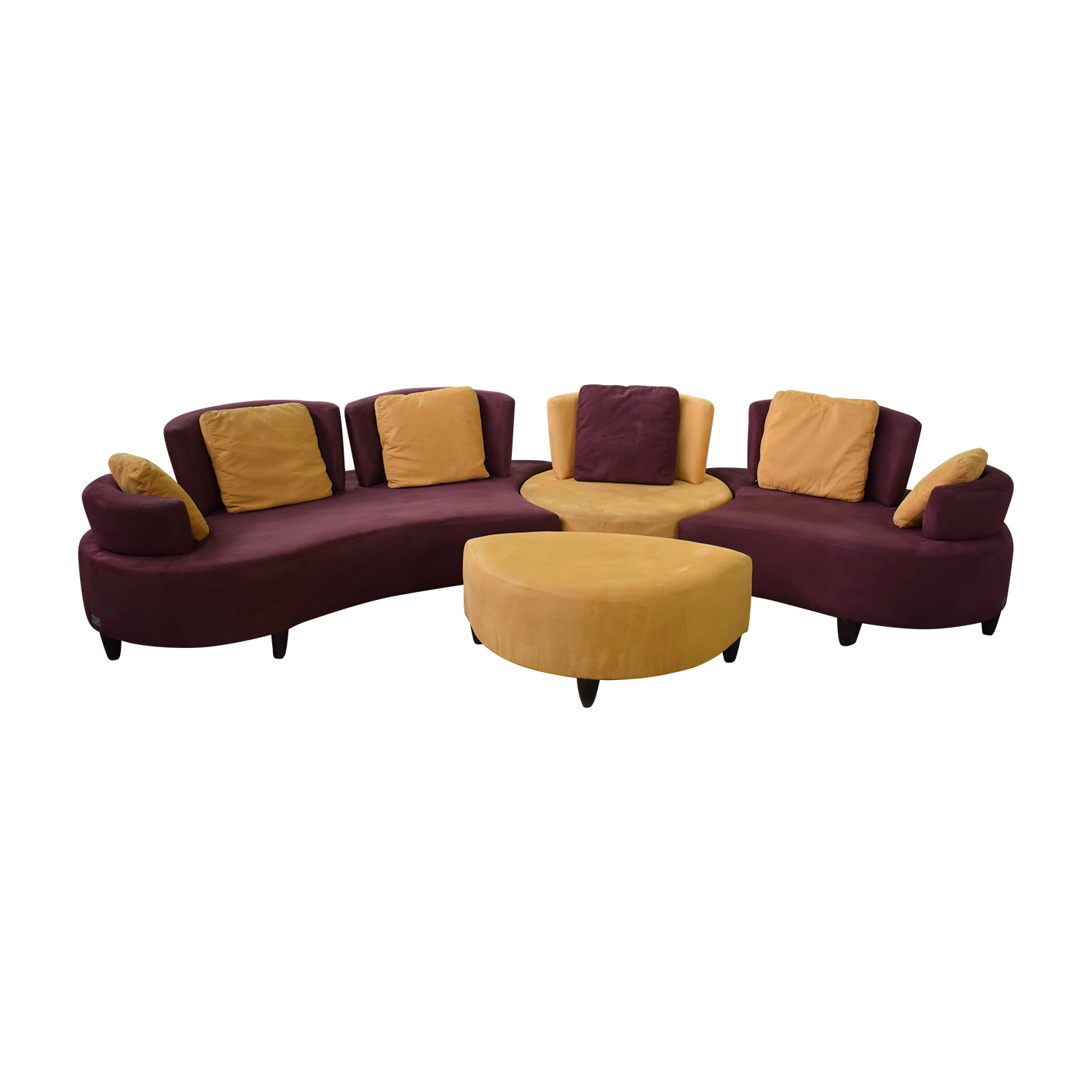 Normand Couture Design Normand Couture Design Cameleon Sectional Sofa Sectionals