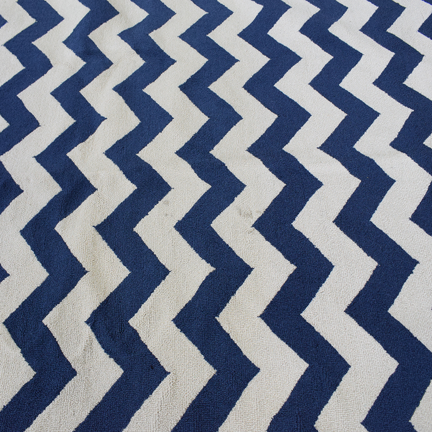 Pottery Barn Kids Pottery Barn Kids Wool Chevron Rug nj
