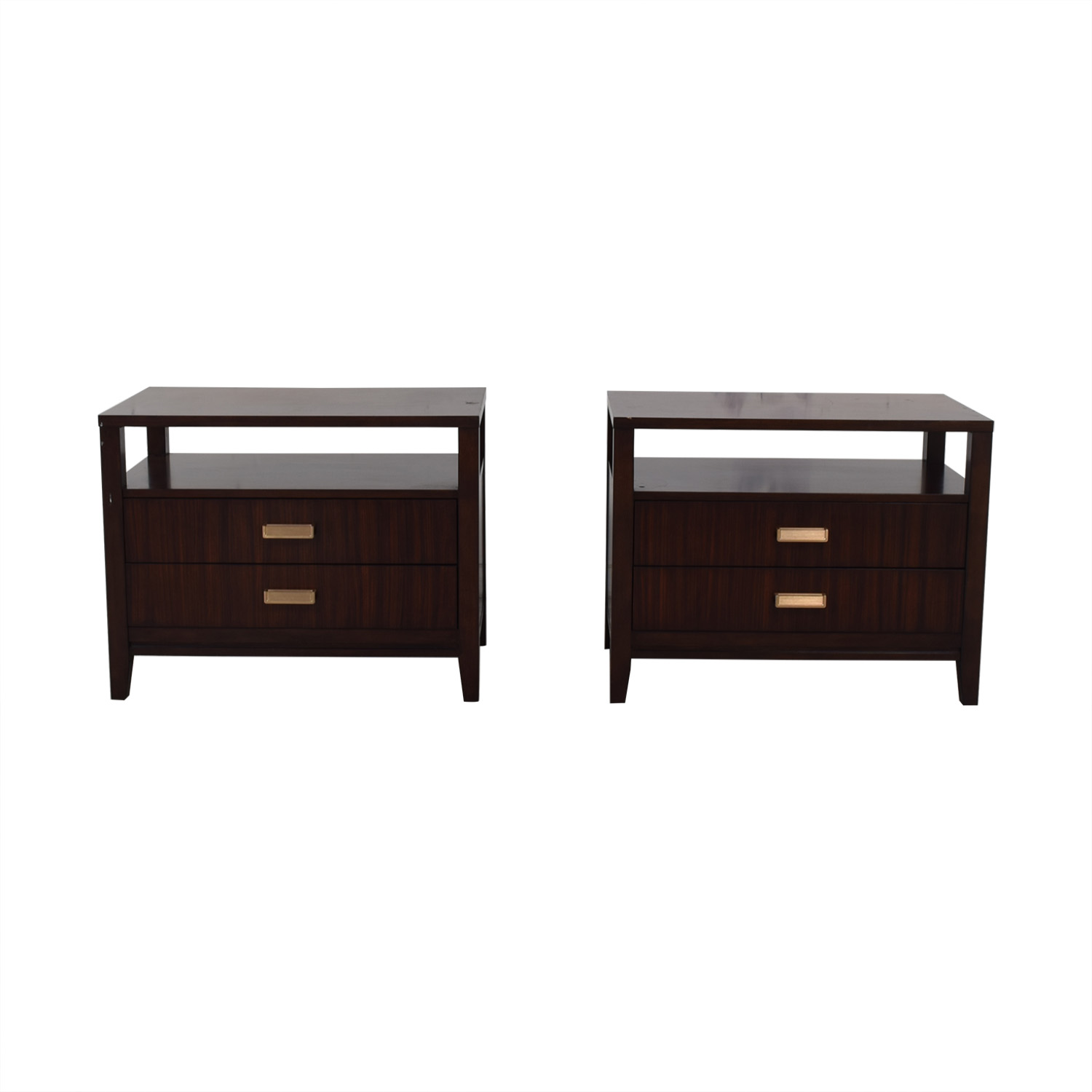 Lexington Furniture Lexington Furniture Wood Two Drawer Nightstands dimensions