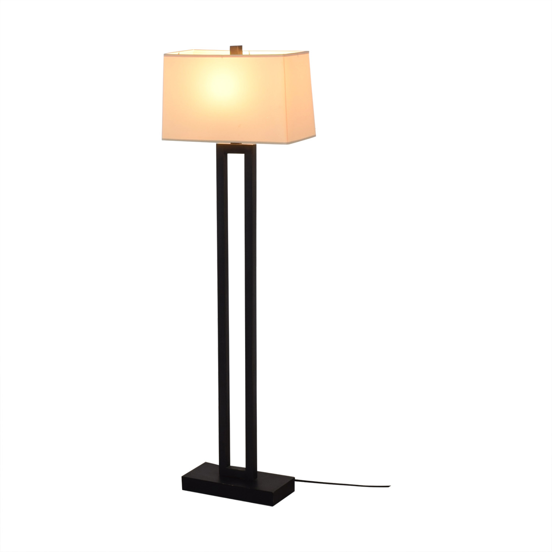 Crate & Barrel Crate & Barrel Duncan Floor Lamp dimensions