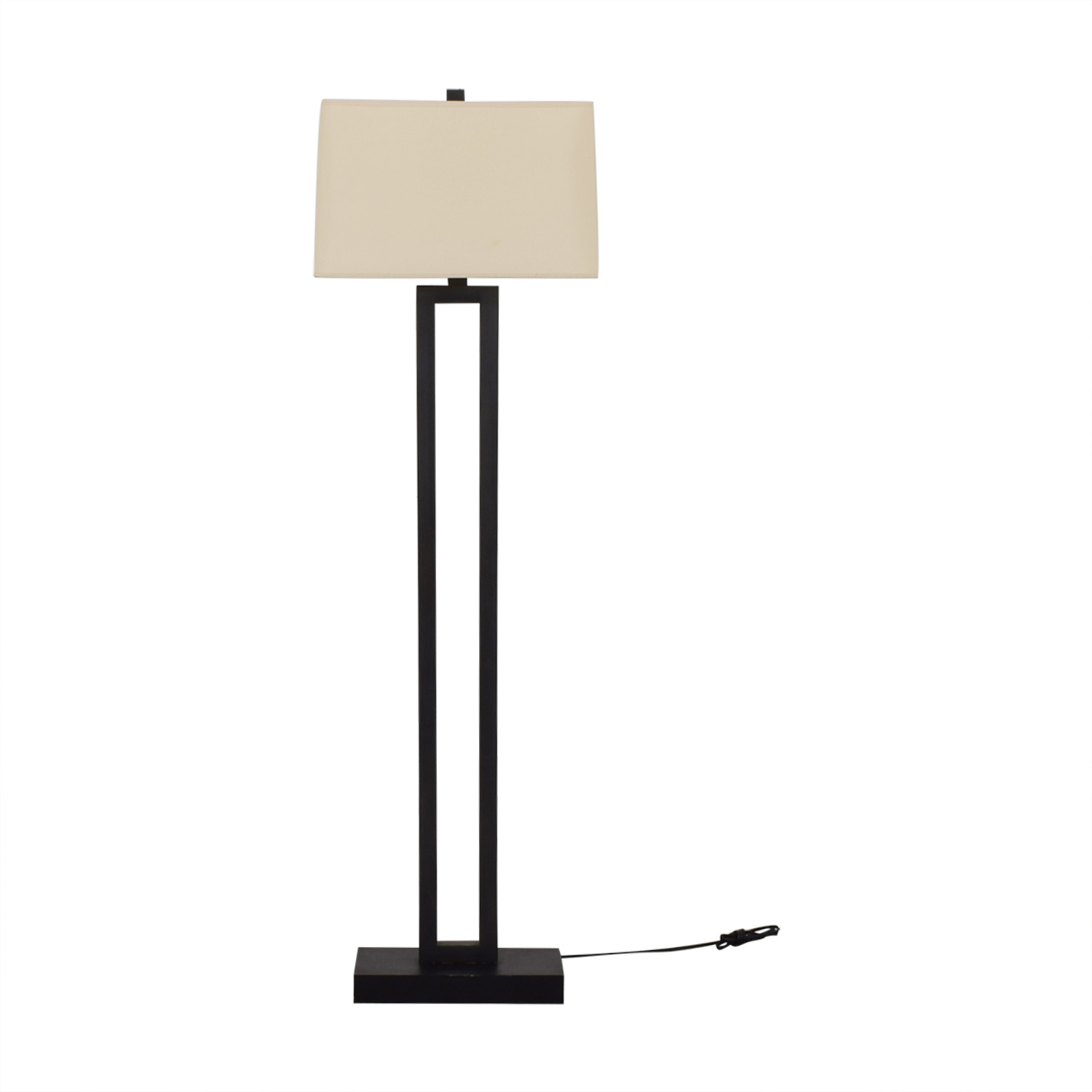 shop Crate & Barrel Duncan Floor Lamp Crate & Barrel Lamps