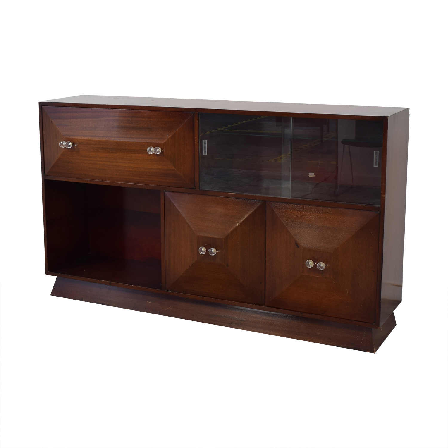 Mid Century Bar Sideboard with Bar dimensions