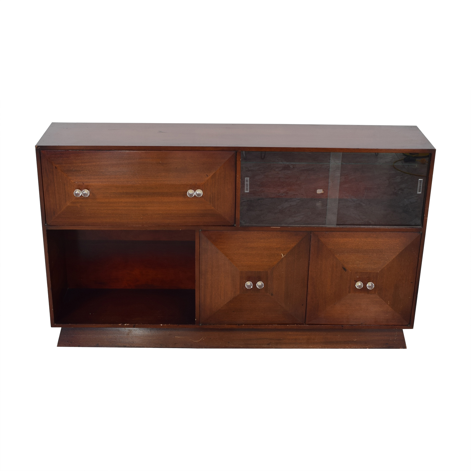 Mid Century Bar Sideboard with Bar Cabinets & Sideboards