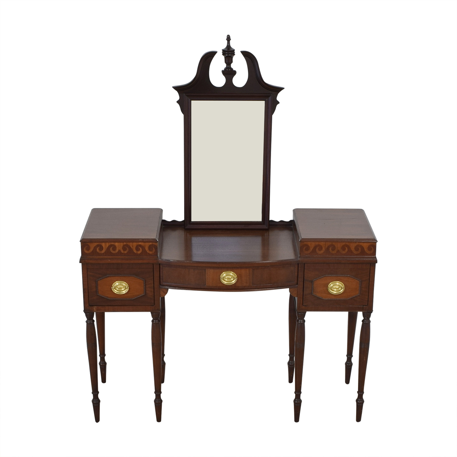 Dressing Table with Mirror Tables