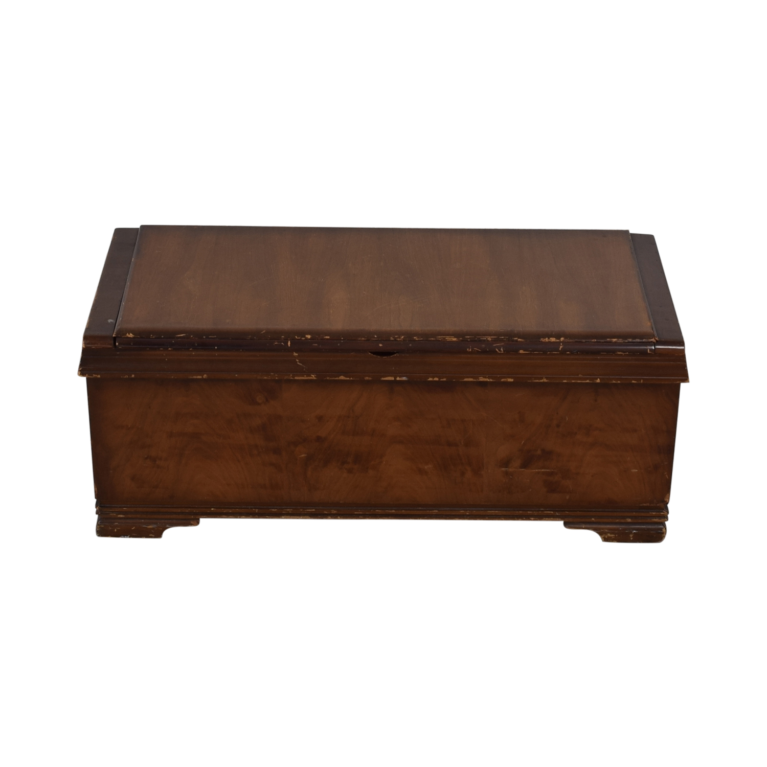 Wooden Trunk used