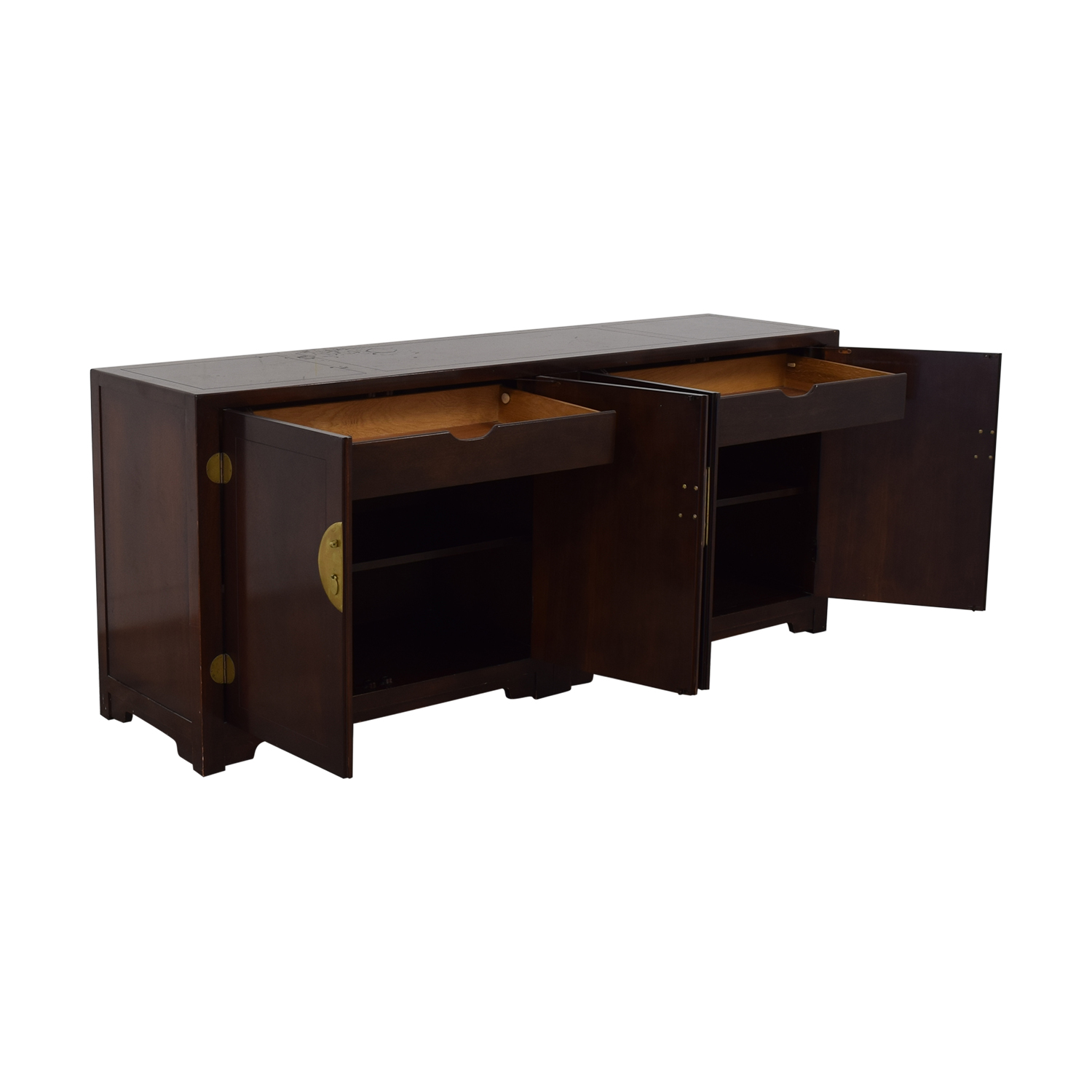 Baker Furniture Baker Furniture Far East Collection Double Chest Sideboard nj