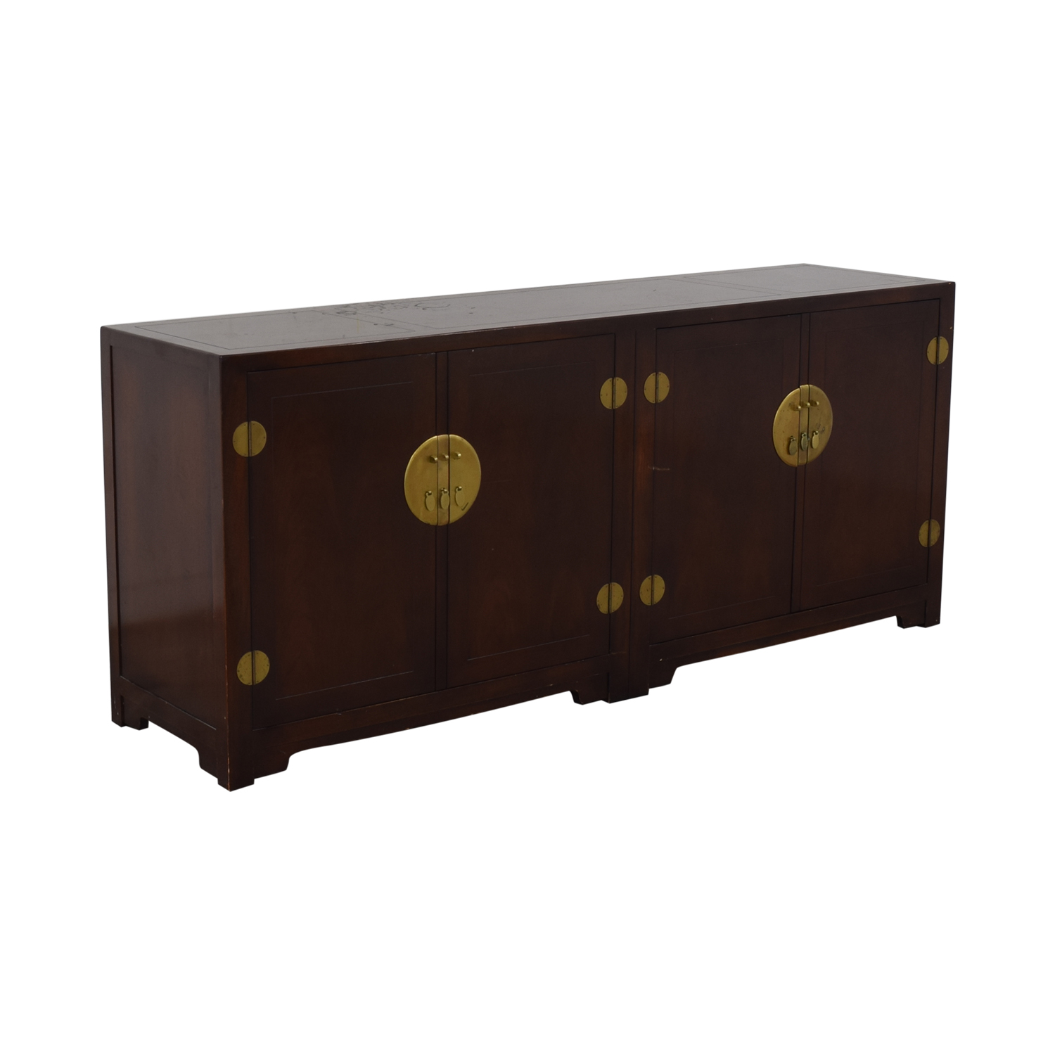 Baker Furniture Baker Furniture Far East Collection Double Chest Sideboard Media Units