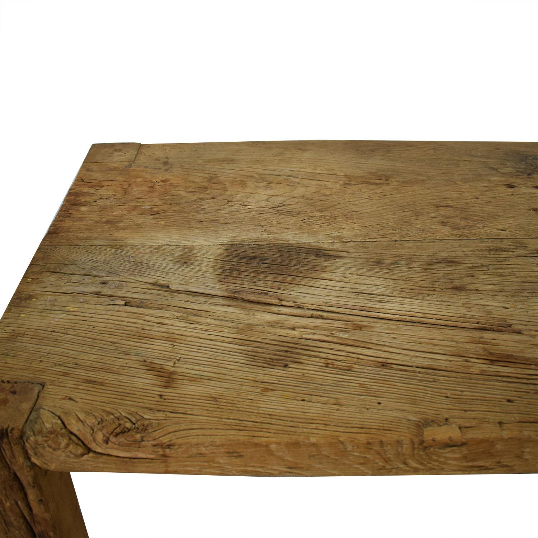 shop ABC Carpet & Home ABC Carpet & Home Reclaimed Wood Farm Table online