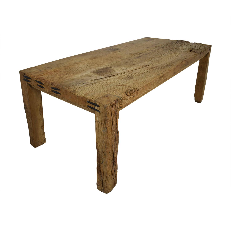 ABC Carpet & Home ABC Carpet & Home Reclaimed Wood Farm Table nj