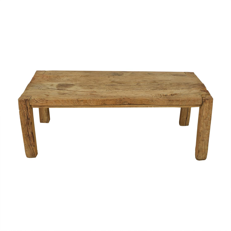buy ABC Carpet & Home Reclaimed Wood Farm Table ABC Carpet & Home Dinner Tables