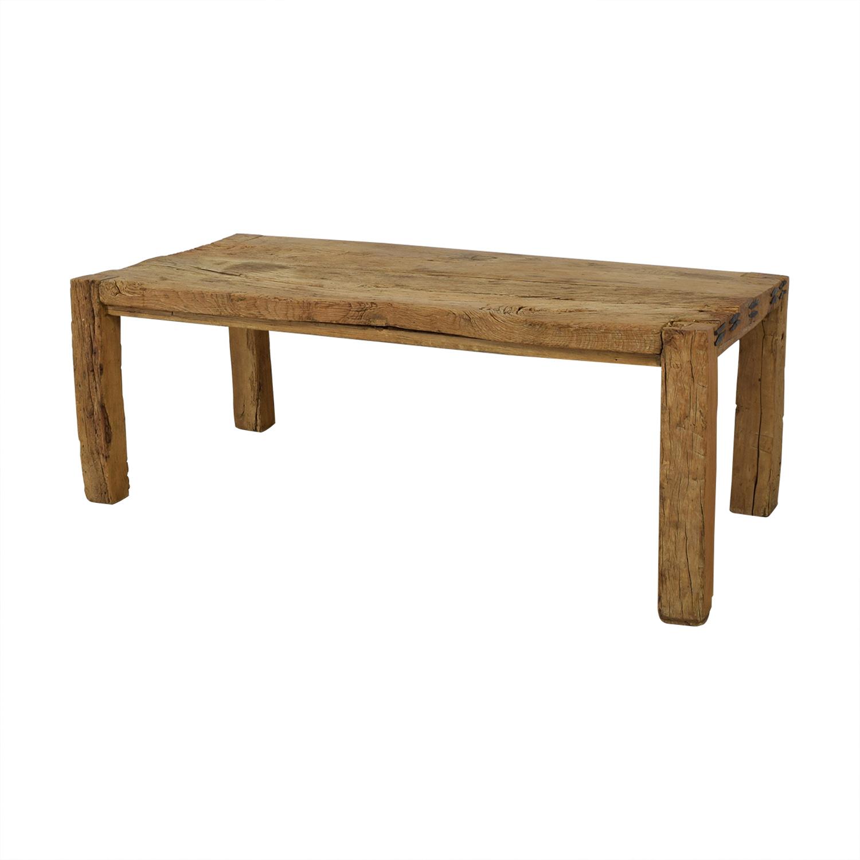 ABC Carpet & Home ABC Carpet & Home Reclaimed Wood Farm Table Dinner Tables