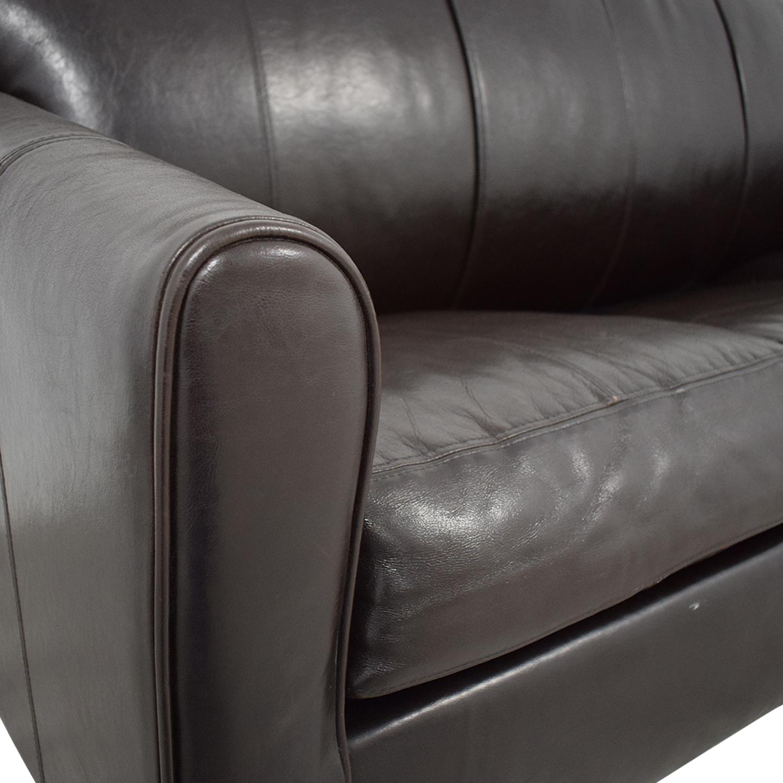 Jennifer Furniture Brown Sleeper Sofa / Sofa Beds