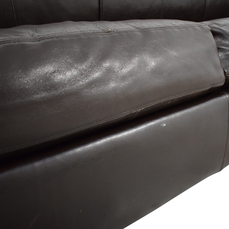 buy Jennifer Furniture Brown Sleeper Sofa Jennifer Furniture