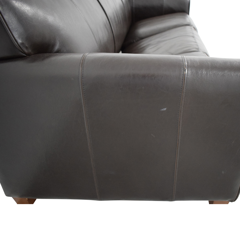 Jennifer Furniture Jennifer Furniture Brown Sleeper Sofa on sale