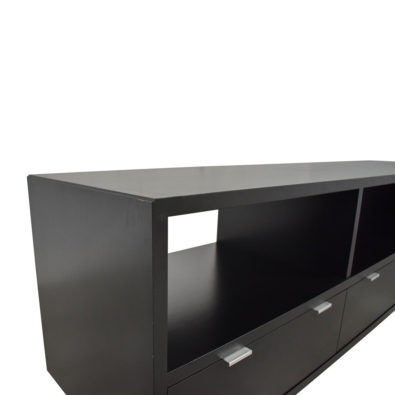 buy Room & Board Copenhagen Three Drawer Media Cabinet Room & Board Media Units