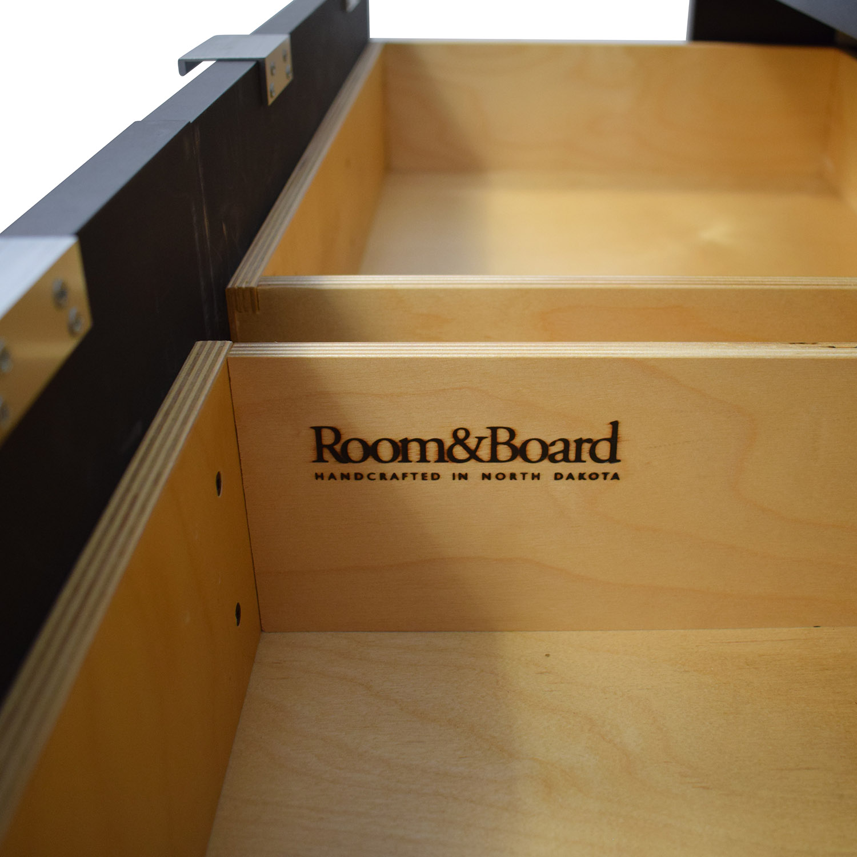 Room & Board Room & Board Copenhagen Three Drawer Media Cabinet Storage