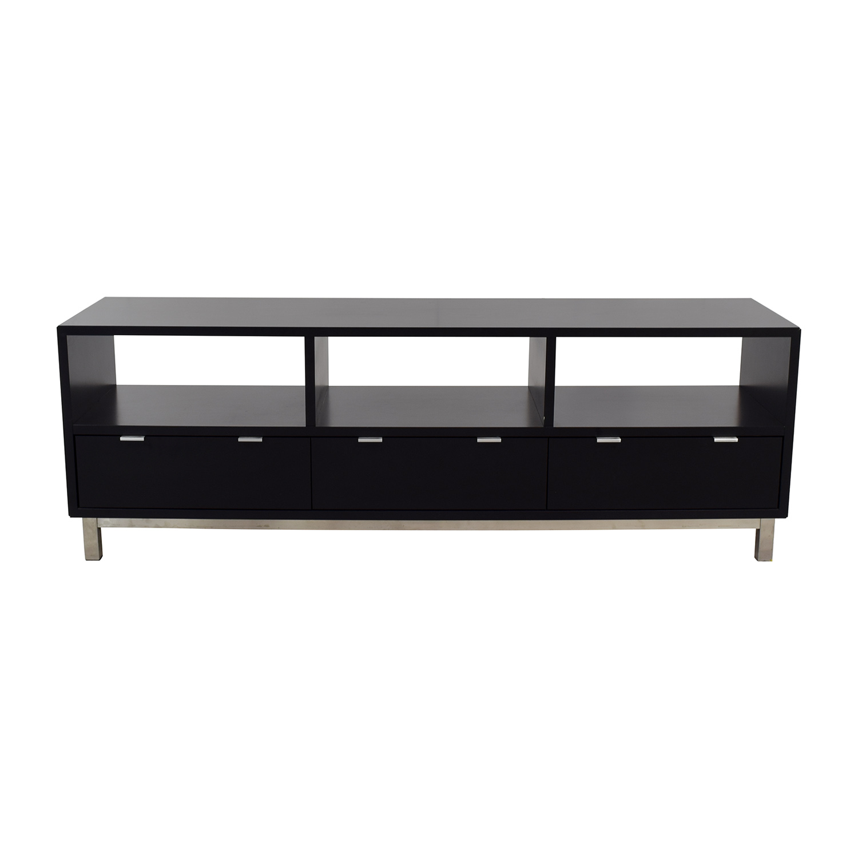 Room & Board Copenhagen Three Drawer Media Cabinet / Storage