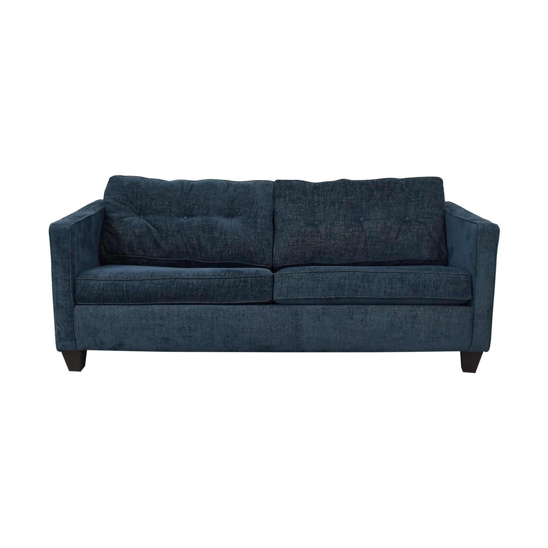 Jennifer Furniture Jennifer Furniture Blue Sleeper Sofa nj
