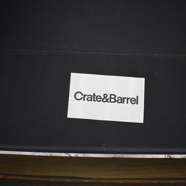 Crate & Barrel Crate & Barrel Barrett Queen Sleeper Sofa discount