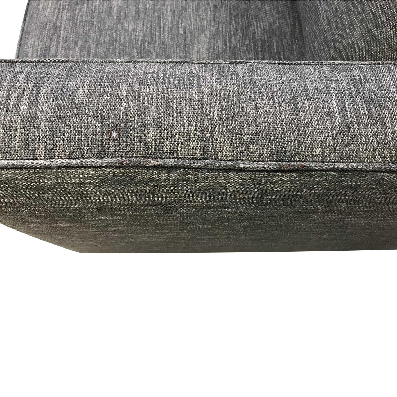 Crate & Barrel Crate & Barrel Barrett Queen Sleeper Sofa grey