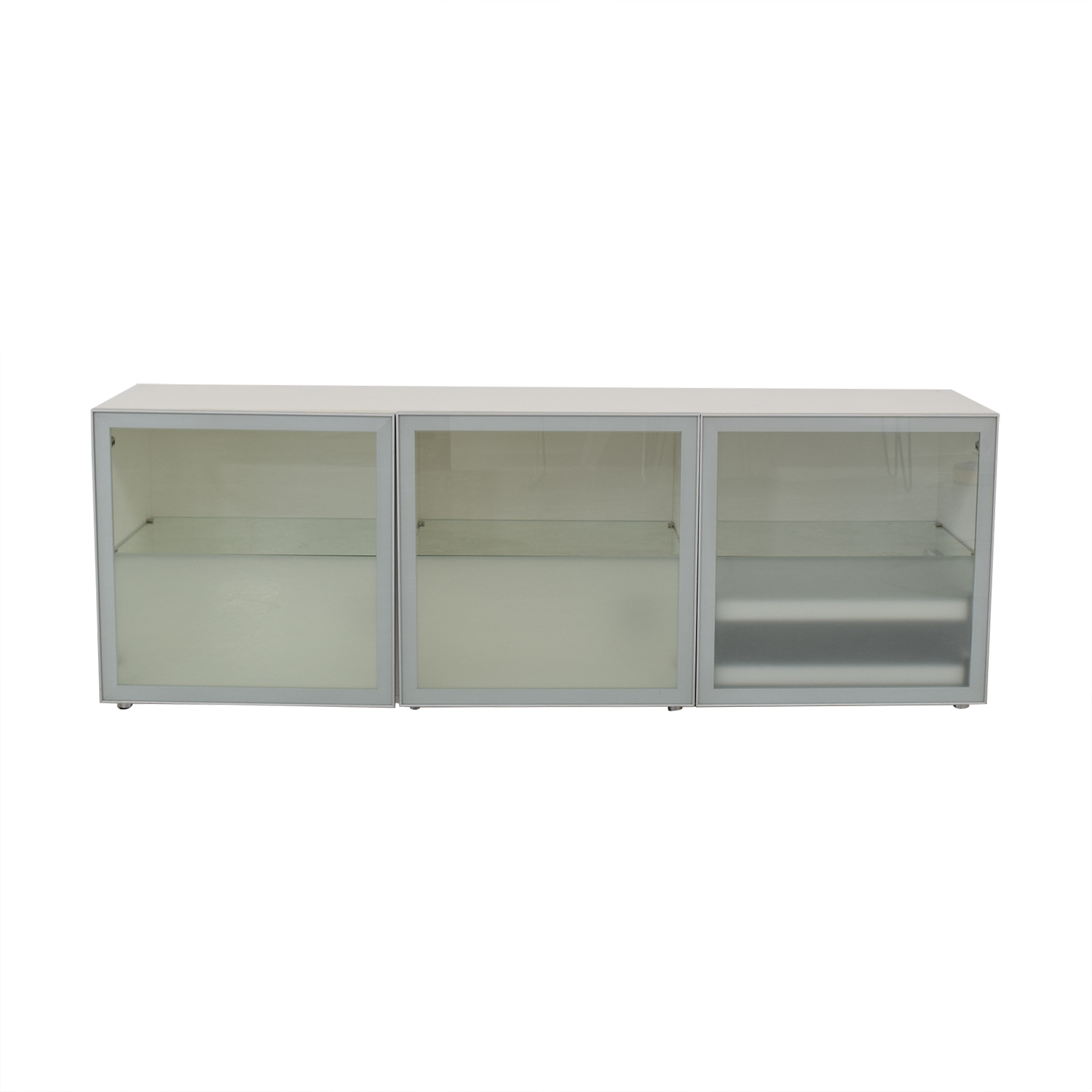buy Design Within Reach White Alto Credenza Design Within Reach