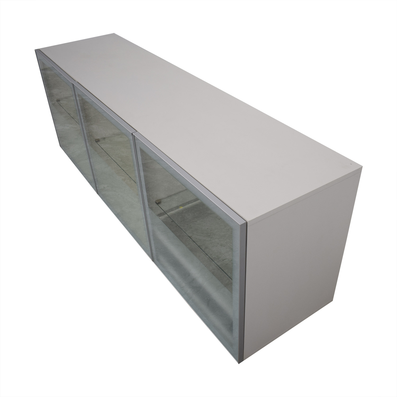 Design Within Reach White Alto Credenza / Storage