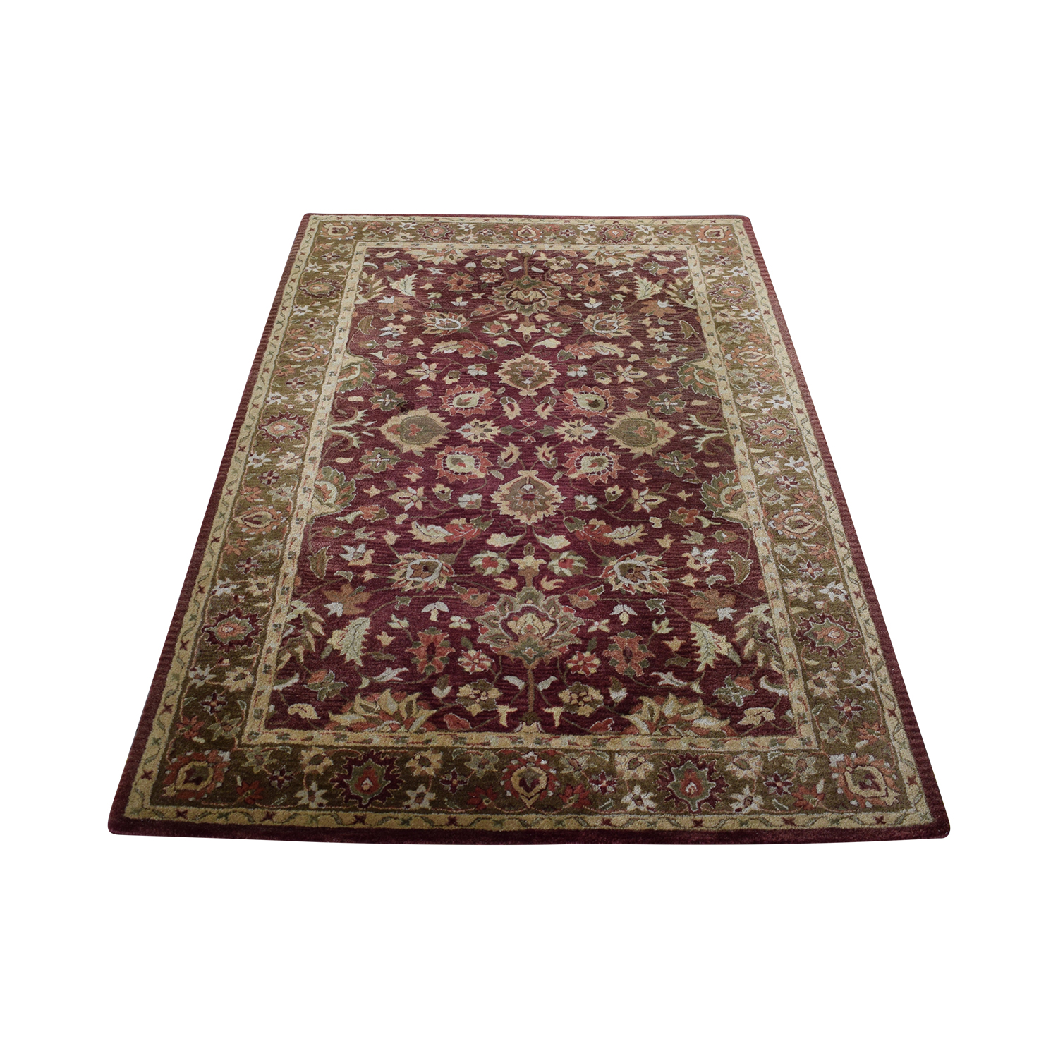 buy Pottery Barn Garnet Persian Rug Pottery Barn Decor