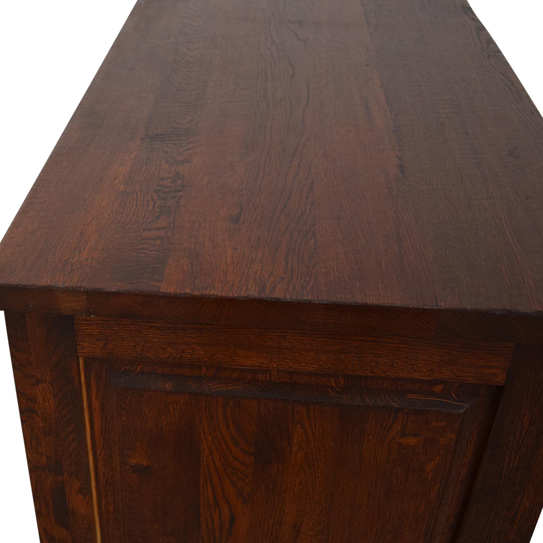 Crate & Barrel Bordeaux Buffet Sideboard sale