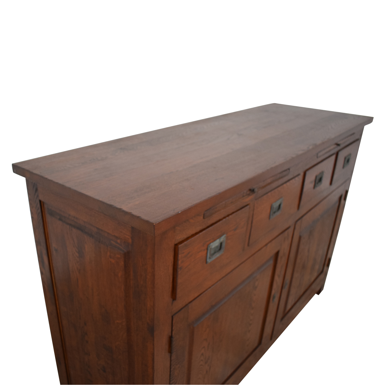 buy Crate & Barrel Bordeaux Buffet Sideboard Crate & Barrel Cabinets & Sideboards
