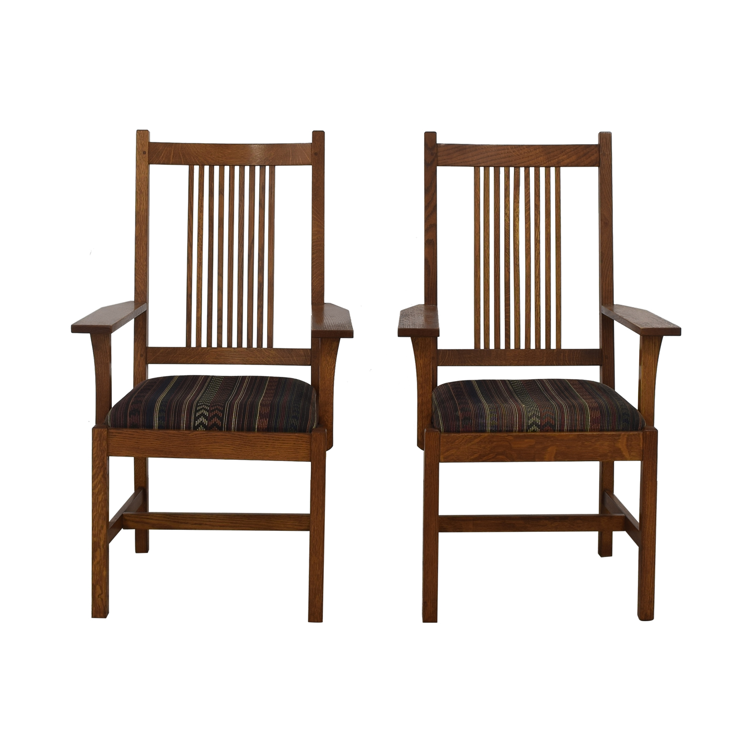 Stickley Furniture Stickley Mission Arm Chairs on sale